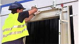 نصب درب اتوماتیک Automatic door installation