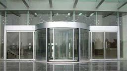 اپراتور درب شیشه ای Automatic glass semicircular door
